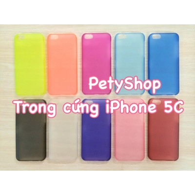 Ốp trong cứng iPhone 5C