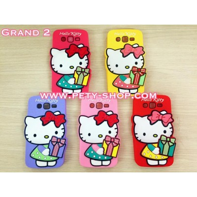 Ốp Kitty cầm quà Samsung Grand 2