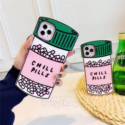Ốp Chill Pills silicon iPhone 11 Pro Max