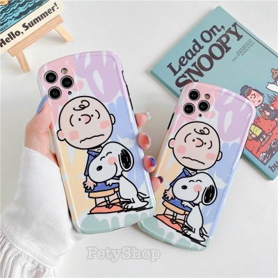 Ốp bọc camera snoopy iPhone 7 Plus/8 Plus