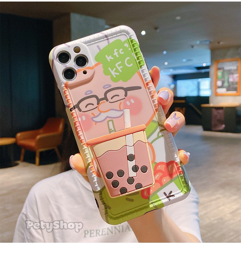 Ốp bọc camera MC Donald KFC + socket iPhone XS Max